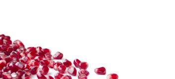 De zaden van de granaatappel. royalty-vrije stock foto