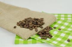 De zaden van de koffie Stock Afbeelding