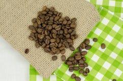 De zaden van de koffie Royalty-vrije Stock Afbeeldingen