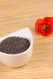 De specerij van de papaver op lijst royalty-vrije stock afbeelding