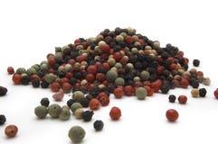 De zaden van de peper royalty-vrije stock afbeelding