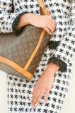 De Zak en Chanel van het Monogram van Louis Vuitton Stock Afbeelding