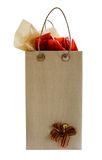 De zak van de gift stock foto's