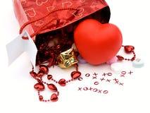 De zak van de gift, stelt 2 voor Royalty-vrije Stock Afbeelding