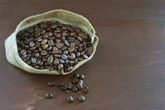 De zak van de koffie Royalty-vrije Stock Afbeeldingen