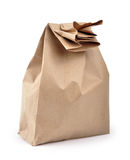 De zak van de lunch - weg royalty-vrije stock foto's