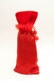 De Zak van de rode Wijn Royalty-vrije Stock Afbeelding