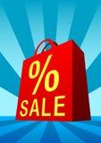 De zak van de verkoop Stock Foto's