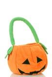 De zak van Halloween van de pompoen Stock Afbeeldingen