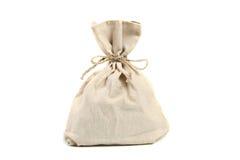 De zak van het linnen Stock Foto