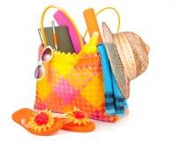 De zak van het strand Stock Afbeelding