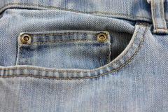 De Zak van jeans Royalty-vrije Stock Afbeelding