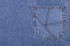 De zak van jeans Stock Afbeelding