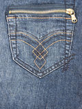 De Zak van jeans Royalty-vrije Stock Afbeeldingen