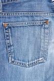 De zak van jeans Stock Foto