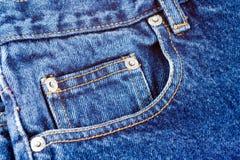 De Zak van jeans Royalty-vrije Stock Foto