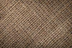De zakachtergrond van het linnen Stock Foto's