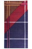 De zakdoeken van drie klassieke mensen stock afbeelding