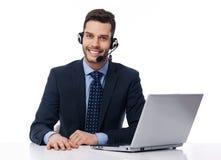 De zakelijke klantdienst royalty-vrije stock afbeelding