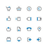 De zaken kleurden nieuwe pictogramreeks 2 Royalty-vrije Stock Afbeelding