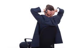 De zaken ontspannen van de zakenman stock foto