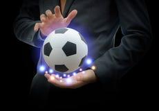 De zaken van de voetbalsport Royalty-vrije Stock Foto