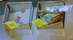 De zaken van financiën Royalty-vrije Stock Afbeeldingen