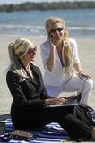 De zaken van het strand Royalty-vrije Stock Foto's