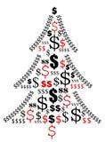 De zaken van Kerstmis vector illustratie