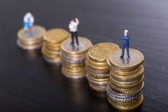 De zaken voeren aan succes op Royalty-vrije Stock Afbeeldingen