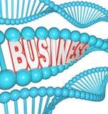 De zaken zijn in Uw DNA Geërfted Aandrijving om te slagen Stock Afbeelding