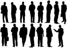 De zakenlieden groeperen zich Stock Foto