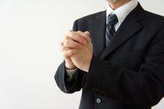 De zakenlieden hopen Stock Foto