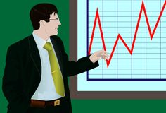 De zakenman Royalty-vrije Stock Afbeelding