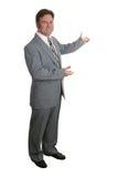 De zakenman of Realtor voltooit 3 Royalty-vrije Stock Foto