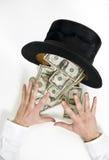 Magisch geld Stock Foto's