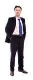 De zakenman van Confidnet Royalty-vrije Stock Afbeeldingen