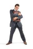 De zakenman van Sucessful Stock Afbeelding