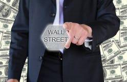 De zakenman van Wall Street Stock Foto