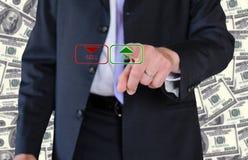 De zakenman van Wall Street Royalty-vrije Stock Foto's