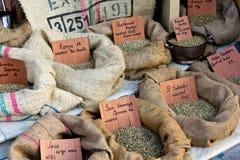 De zakken van Cofee Stock Afbeelding