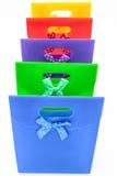 De zakken van de gift stock afbeelding
