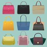 De zakken van de glamourmanier Stock Afbeeldingen