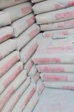 De zakken van het cement Royalty-vrije Stock Afbeelding