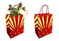 De zakken van Kerstmis royalty-vrije illustratie