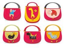 De zakken van kinderen Stock Foto's