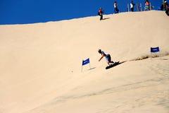 De zand het inschepen wereldbeker royalty-vrije stock foto