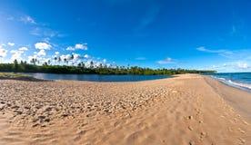 De zandbank van Bahia Stock Afbeelding