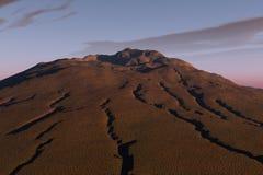 De zandige Heuvel van de Grond Royalty-vrije Stock Afbeelding