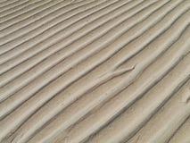 De zandige stranden van Fuerteventura at low tide stock afbeelding